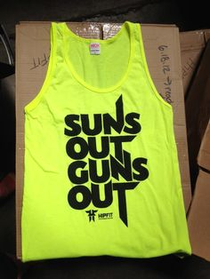 Suns Out Guns Out....lovin summer time clothes