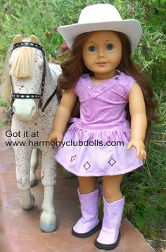 Got it at www.harmonyclubdolls.com Over 300 styles to fit American Girl.