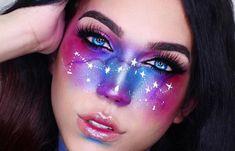 Galaxy Freckles makeup