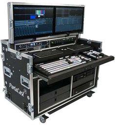 Woodworking Projects You Can Sell. Mobile Recording Studio, Audio Studio, Sound Studio, Studio Desk, Studio Setup, Home Studio, Studio Equipment, Dj Equipment, Flight Case