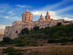 Xara Palace Relais & Chateaux in Mdina, Malta Places In Europe, Europe Destinations, Places To Go, Europe Europe, Malta Mdina, Malta Island, Europe On A Budget, Secret Places, Tour Eiffel