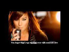 Kelly Clarkson- stronger