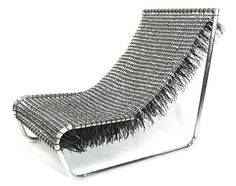 Stunning soda tabs chair!