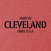 made in Cleveland T shirt, tee