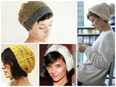 how to wear a knit cap.with a pixie cut - Google Search