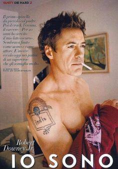 Always been a fan of Robert Downey Jr.