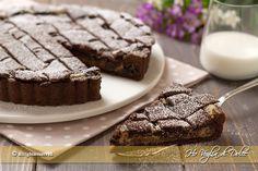 Crostata al cacao con ricotta e cioccolato