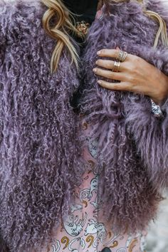 So imagine how excited I was to create something with Paul & Joe around their show in Paris. Winter Pastels, Leonie Hanne, Paul And Joe, Paris Shows, Brand Me, Winter Fashion, Fur Coat, Dreadlocks, Winter Style