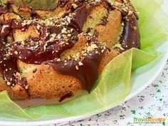 Torta Rosa alle nocciole con glassa di cioccolato  #ricette #food #recipes