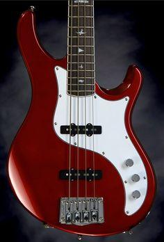 PRS Kestrel Bass - Red Metallic