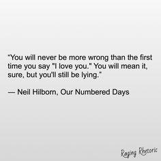 #ragingrhetoric #neilhilborn #ournumbereddays  https://facebook.com/ragingrhetoric/