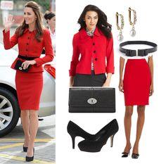 Apr14th ~ Kate Middleton Style Inspiration. SHOP Kate\u0027s \u0027Canterbury\u0027 style  for less \u003e