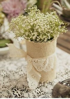 cute little centerpieces for a party or everyday