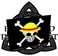 Hellsword Papercraft: One Piece Mugiwara Crew Flag 3D Papercraft
