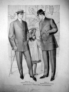 1910 sack suits