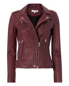 IRO Han Leather Biker Jacket - INTERMIX®