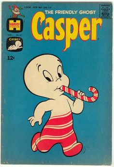 Casper the Friendly Ghost vintage comic book, August, 1963  Harvey Comics