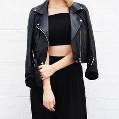 The Vital Leather Jacket | Nakedvice