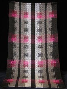 Handwoven towel by Jan Hayman photo by Aimee Radman