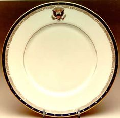 FDR White House china - White House china - Wikipedia, the free encyclopedia Presidential Seal, Presidential History, Good China, New China, American Presidents, Presidents Wives, American History, Lenox China, The 'burbs