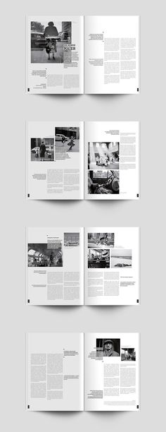 -EDITION-MISE EN PAGE-MAGAZINE-VIVIAN MAIER- on Behance