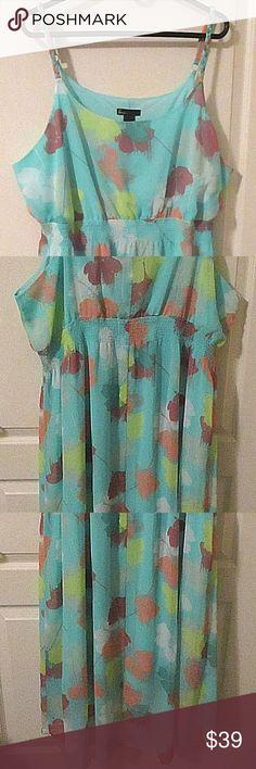 00dfe69d28a1c Lane Bryant gorgeous chiffon dress size 22 24 Lane Bryant 22 24 gorgeous  chiffon