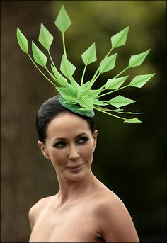 Green Blade Hat?: ladies Day Ascot