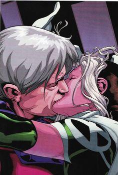 Rogue Kissing Magneto
