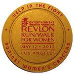 Revlon 2012 Run Walk Medal, Our 13th Year Straight