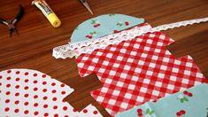 Schnittmuster und Anleitung zum Nähen einer kleinen Taschen mit Taschenbügel