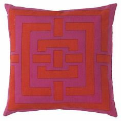 Red & Pink Pillow.