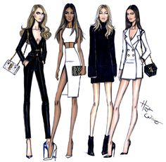 https://flic.kr/p/rHnHRR | ModelBehaviourModel Behaviour: Cara, Jourdan, Gigi & Kendall by Hayden Williams | Cara, Jourdan, Gigi & Kendall