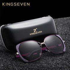 9d5f388285 KINGSEVEN Brand Design Luxury Polarized Sunglasses Women Ladies Gradient  Butterfly Sun Glasses Female Vintage oversized Eyewear