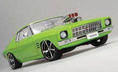 "Holden HQ Monaro Street Machine - ""Venom"" Noxious Green"