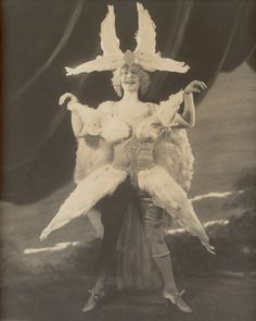 vaudeville salome dance | feathers