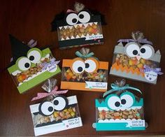 Laura's Works of Heart: MORE HALLOWEEN TREAT BOXES: