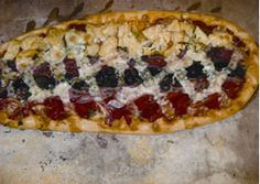 Hearth baked flatbread pizza made from scratch using an old world pizza crust and only fine, fresh, fun toppings! Wellesley only.