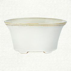 a delightful union of classic greek lines and delicate english garden sensibilities, our antique white flowerpots offer a refined solution to their ev