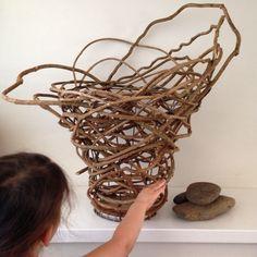 Mr & Mrs Munro. Basket makers from Australia