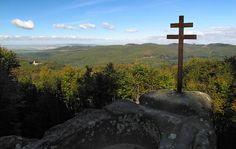Skalní útvar a přírodní památka Kazatelna, Chřiby