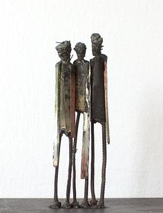 Visit the mixed media metal sculptures gallery - junk art by Johan P. Jonsson