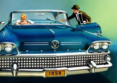 In one of the previous posts we've already told you about Coca-Cola advertisment. Today we represent you another retro collection - old car ads. We are pleased to bring to your attention car legends from Automobile, Convertible, Buick Cars, Buick Century, Buick Riviera, Car Illustration, Car Posters, Car Advertising, Us Cars