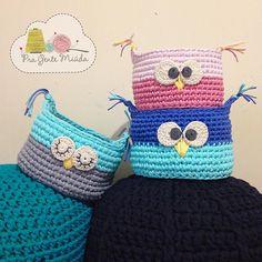 Ver esta foto do Instagram de @pragentemiuda • 589 curtidas Crochet For Kids, Straw Bag, Coin Purse, Crochet Hats, Beanie, Wallet, Instagram Posts, Baskets, Owl Bird