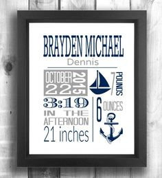 Check out this item in my Etsy shop https://www.etsy.com/ca/listing/248778224/nautical-nursery-wall-art-nautical-birth