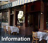 Ristorante Capannina italian restaurant in San Francisco Union Street