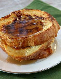 Eggnog French Toast #recipe