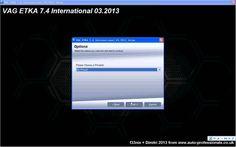 How to install Vag etka International