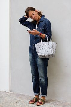 Love this bag. Feminine, soft, pastel colors. At Marni, Milan - Sep 24, 2013