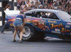 Vintage Drag Racing - Jungle Jim w/ Pam 1976 Vega