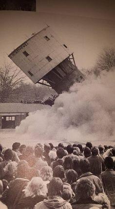 Oude watertoren 1978 Ede; ik stond er bij.